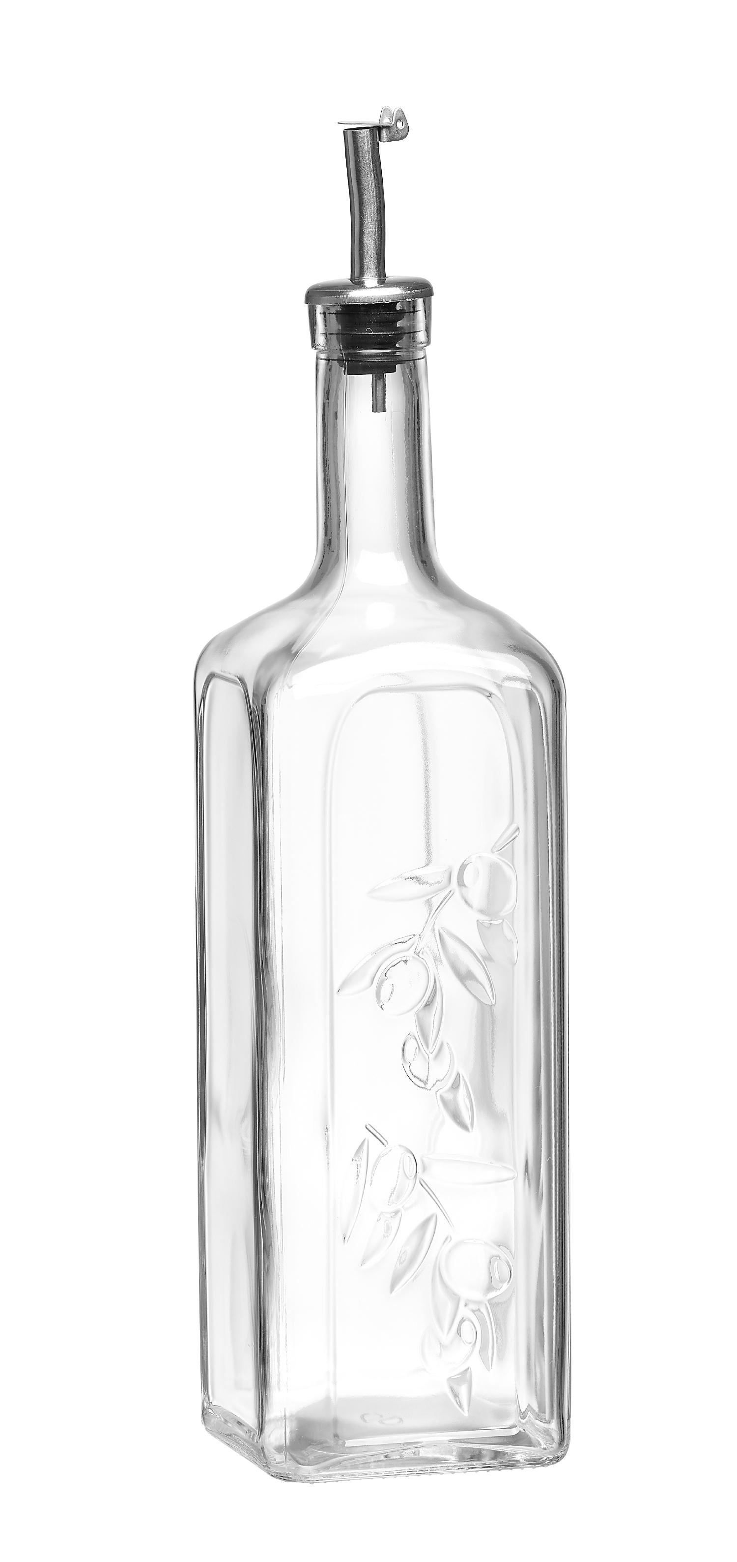 Essig und Ölflasche