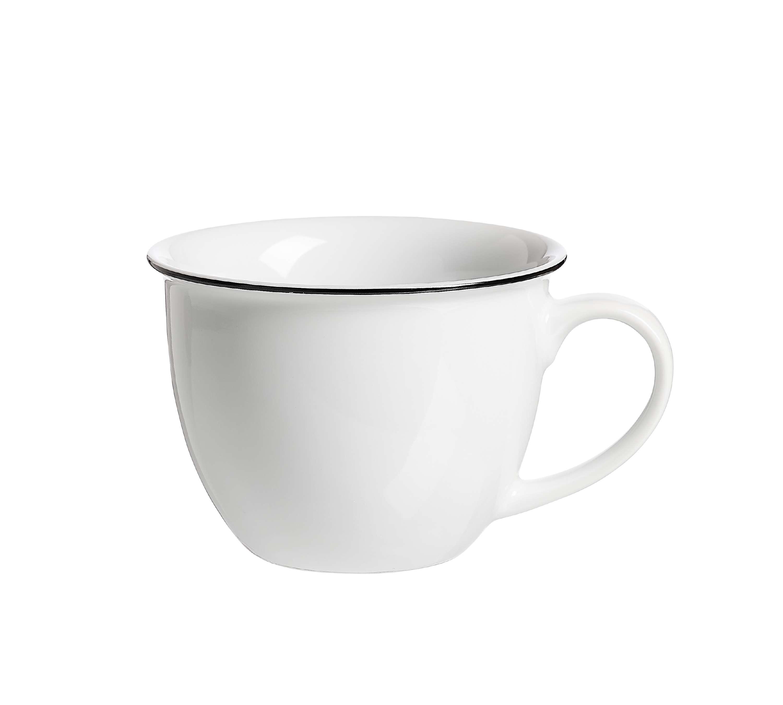 Milchkaffee Obertasse